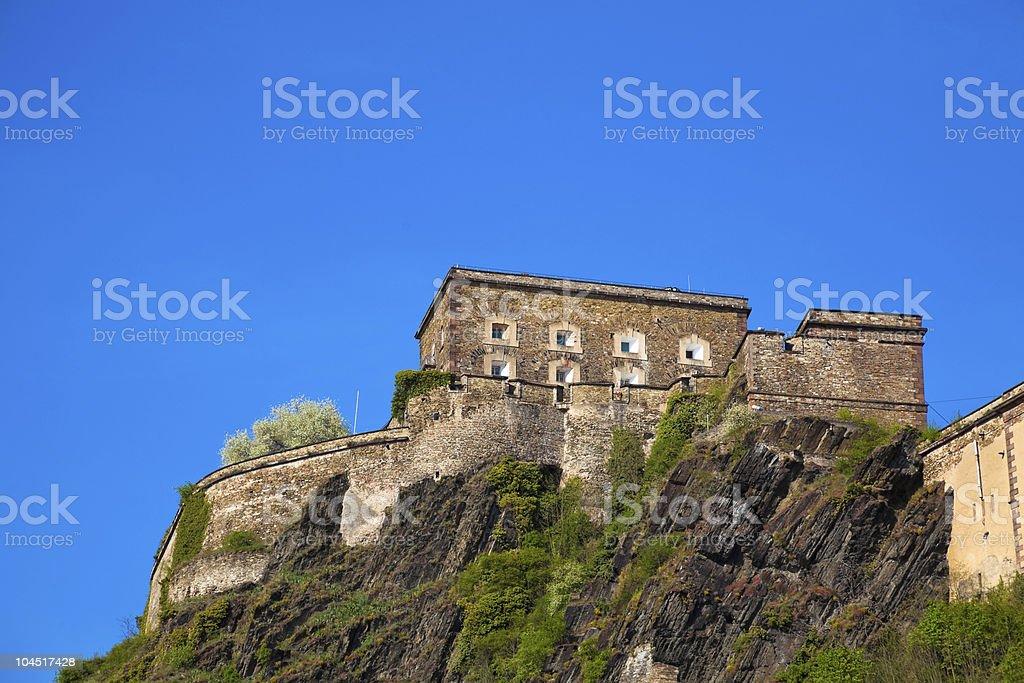 Ehrenbreitstein Fortress stock photo