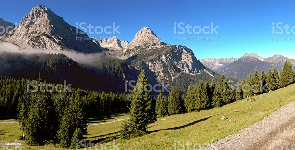 ehrwalder alm royalty-free stock photo