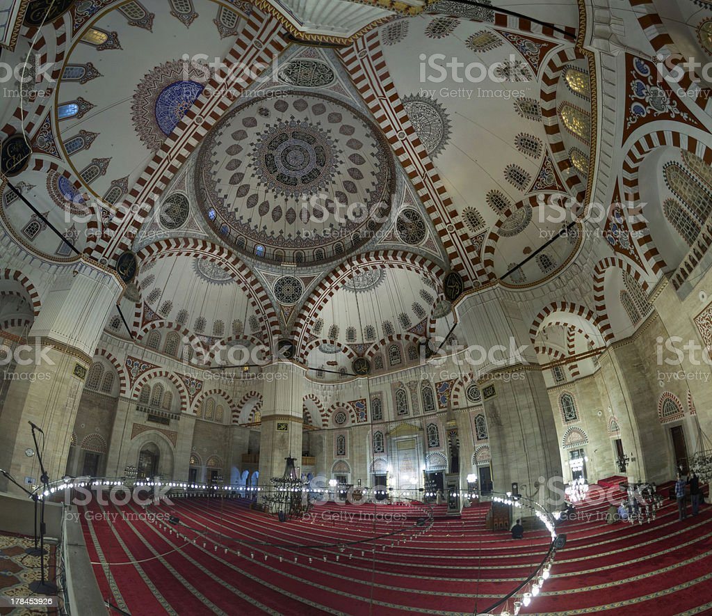 ?ehzade Mosque royalty-free stock photo