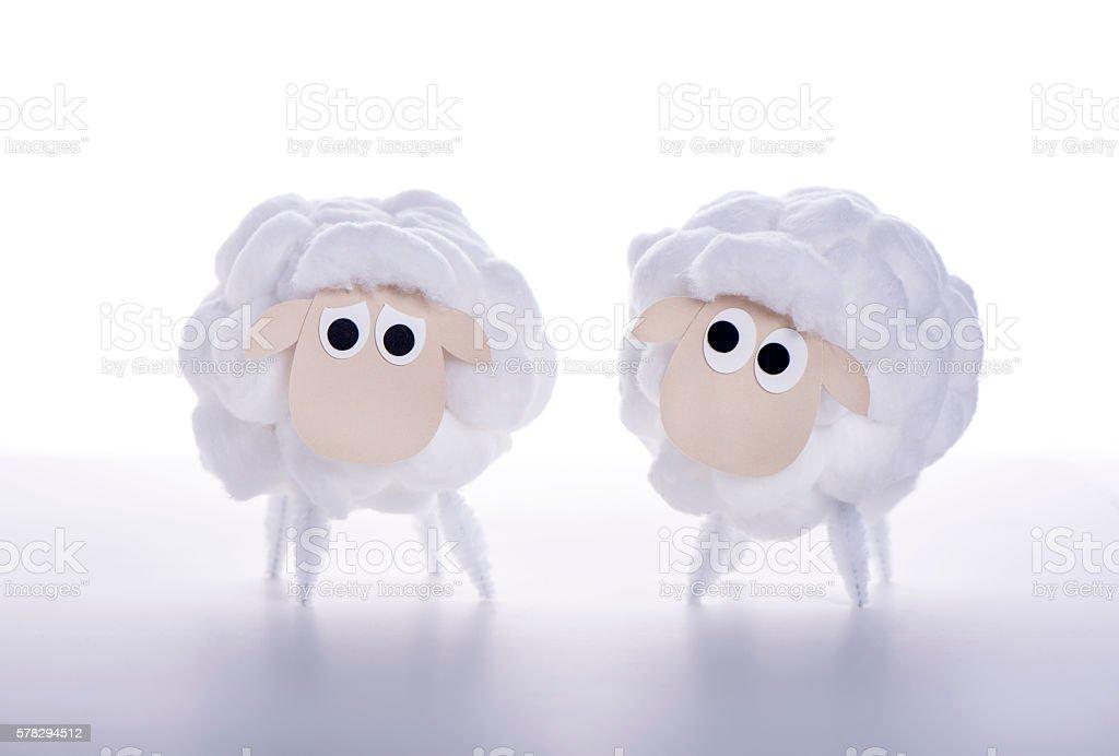 Eid Al Adha Sheeps stock photo