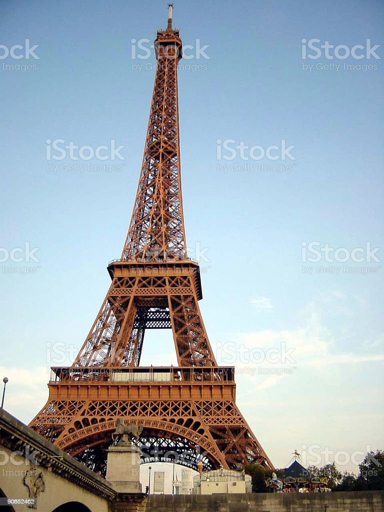 Eiffel 01 royalty-free stock photo