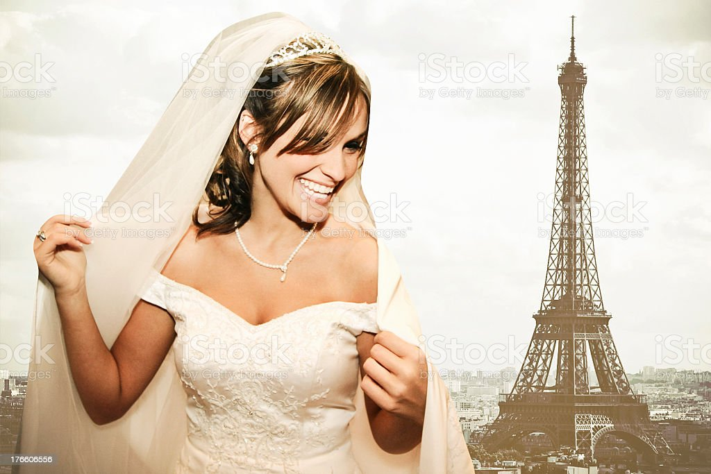 Eiffel Tower Beauty royalty-free stock photo