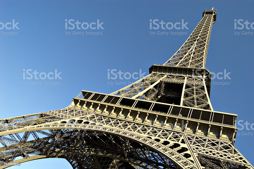 Eiffel tower. France royalty-free stock photo