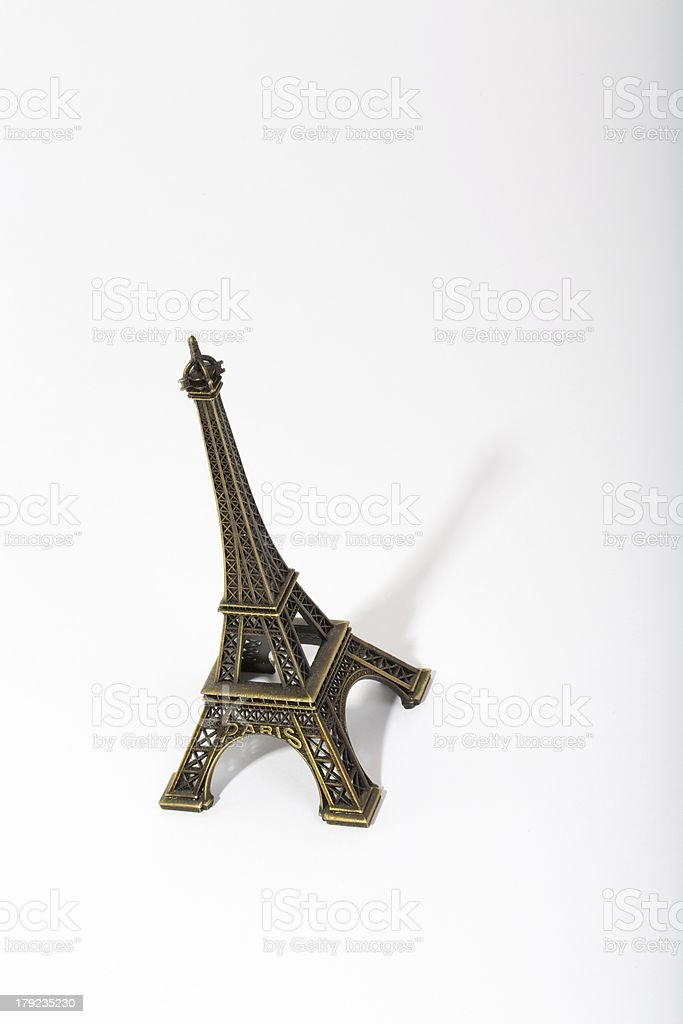 Eiffel Tower Miniature royalty-free stock photo