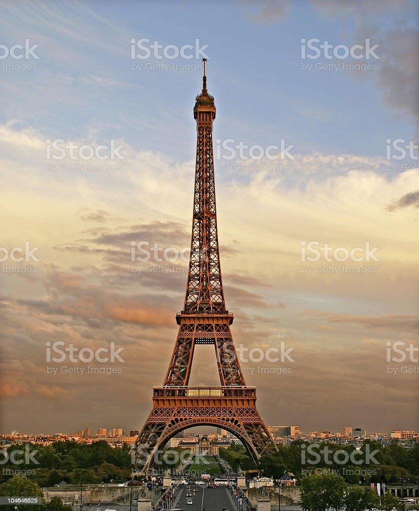 Eiffel Tower, Paris, France royalty-free stock photo