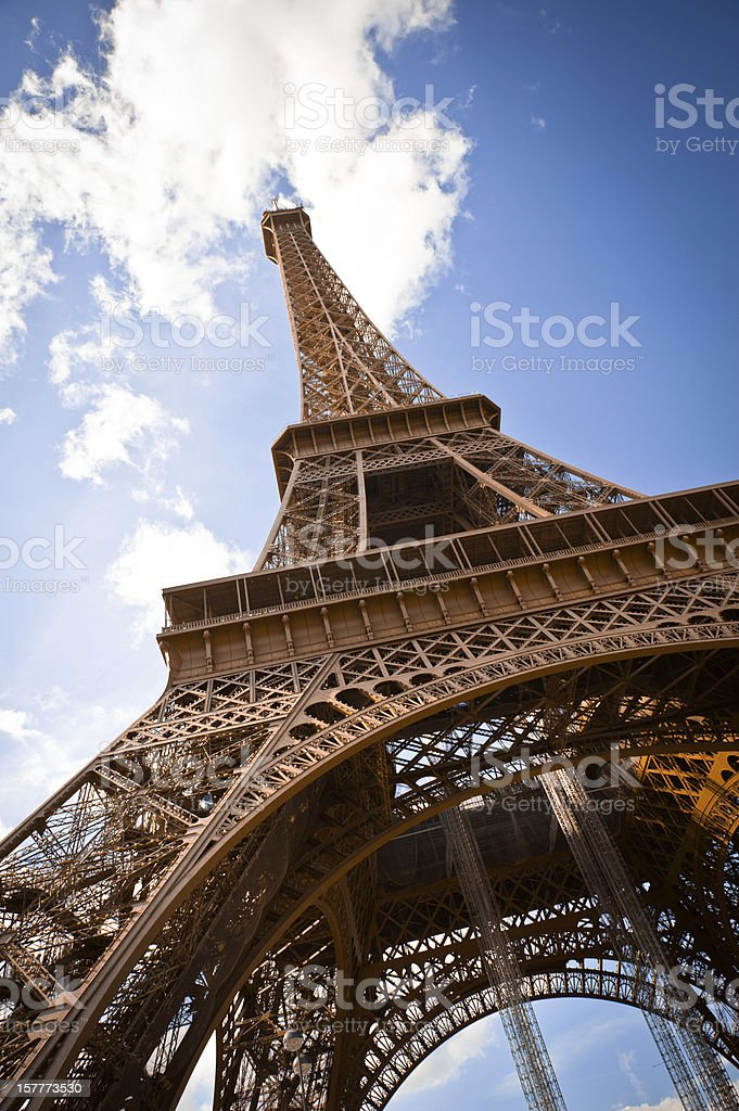 Eiffel tower. Paris, France. royalty-free stock photo