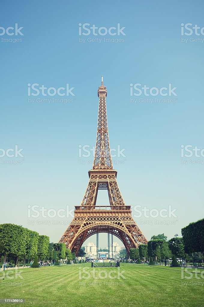 Eiffel Tower, Paris - France royalty-free stock photo