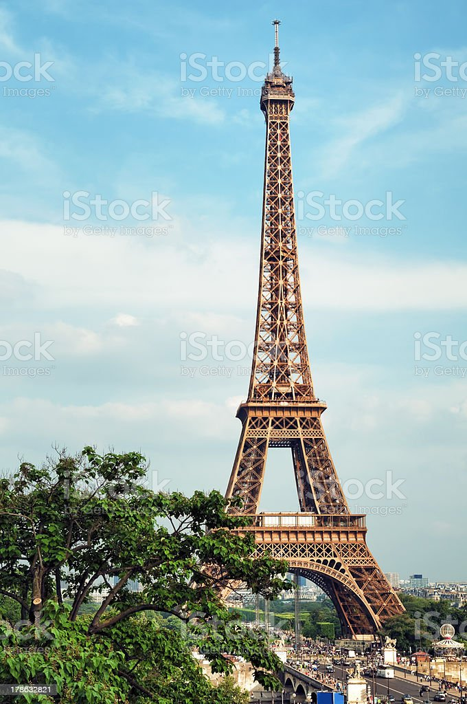Eiffel Tower, Paris - France royalty-free stock photo