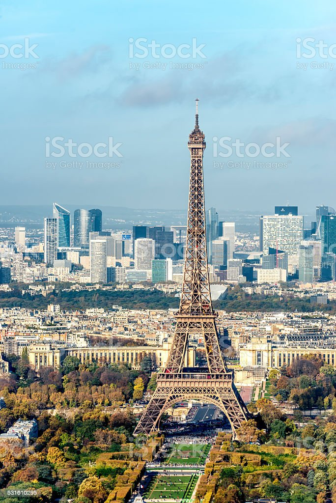 Eiffel Tower, Paris - France stock photo