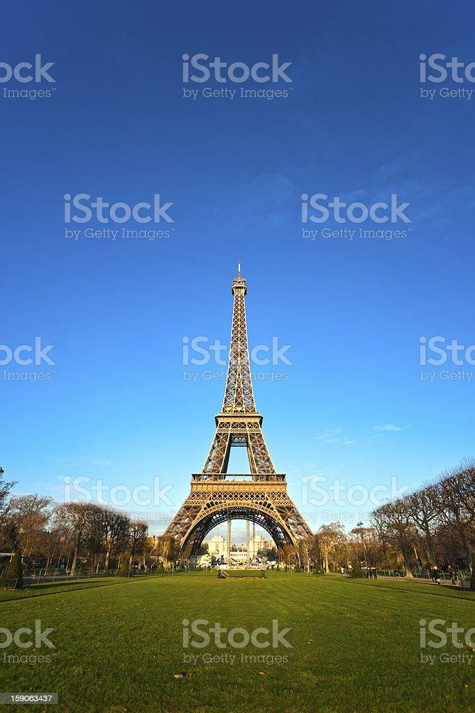 Eiffel tower, Paris. royalty-free stock photo