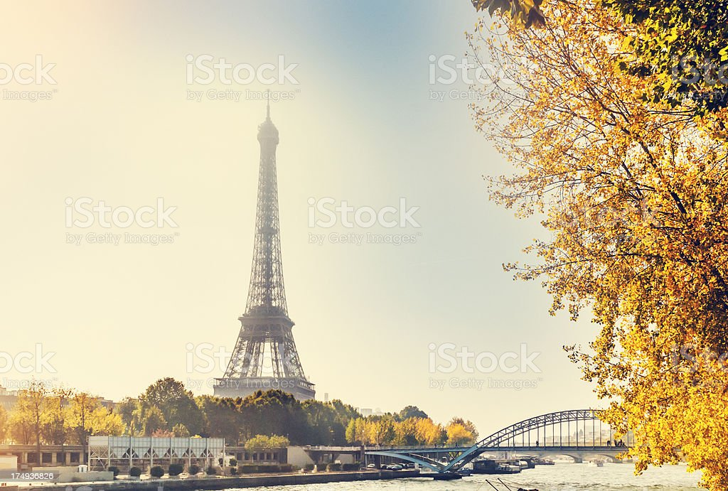 Eiffel Tower, Paris royalty-free stock photo