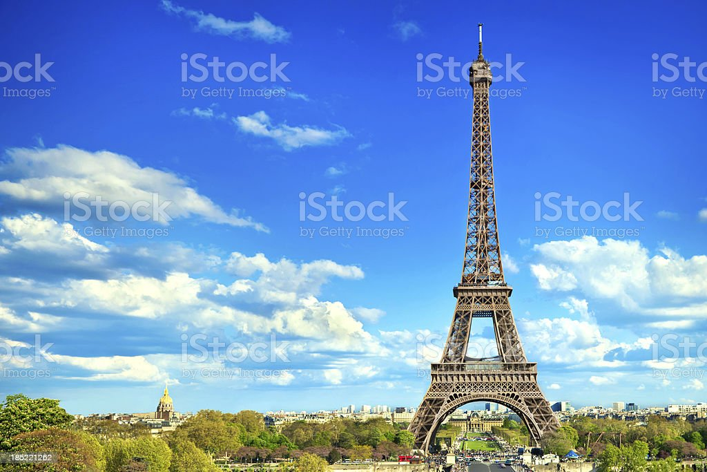 Eiffel Tower Paris royalty-free stock photo