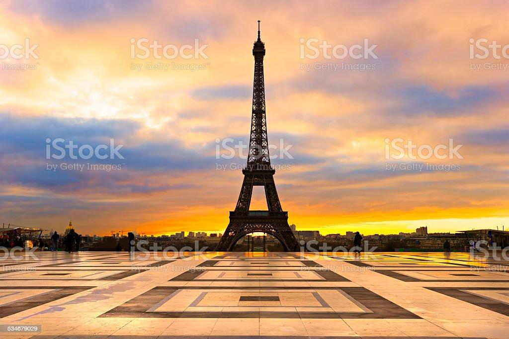 Eiffelturm, Paris. – Foto