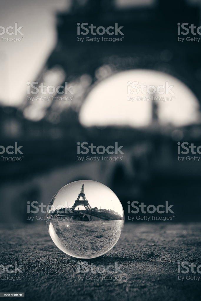 Eiffel Tower Paris stock photo