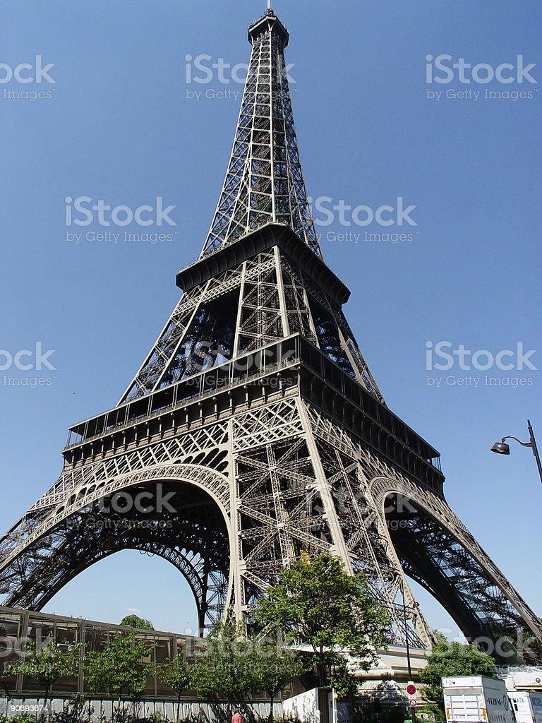 Eiffel tower Paris royalty-free stock photo