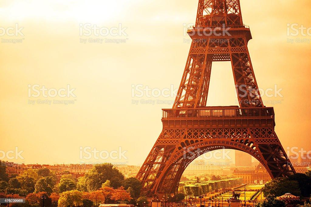 Eiffel Tower stock photo