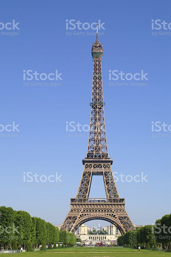 eiffel tower royalty-free stock photo