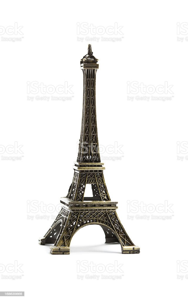 Eiffel tower replica stock photo