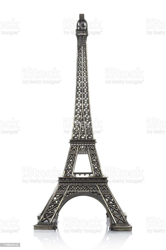 Eiffel tower souvenir stock photo
