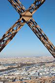 Eiffel Tower view of Paris