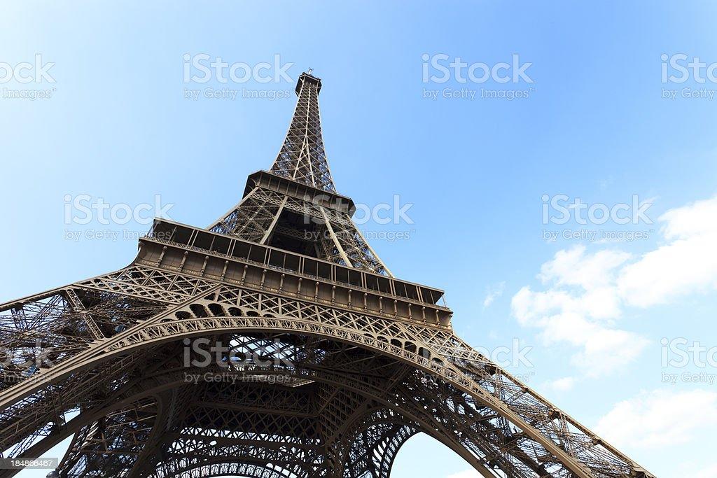 Eiffel tower  XXXL royalty-free stock photo