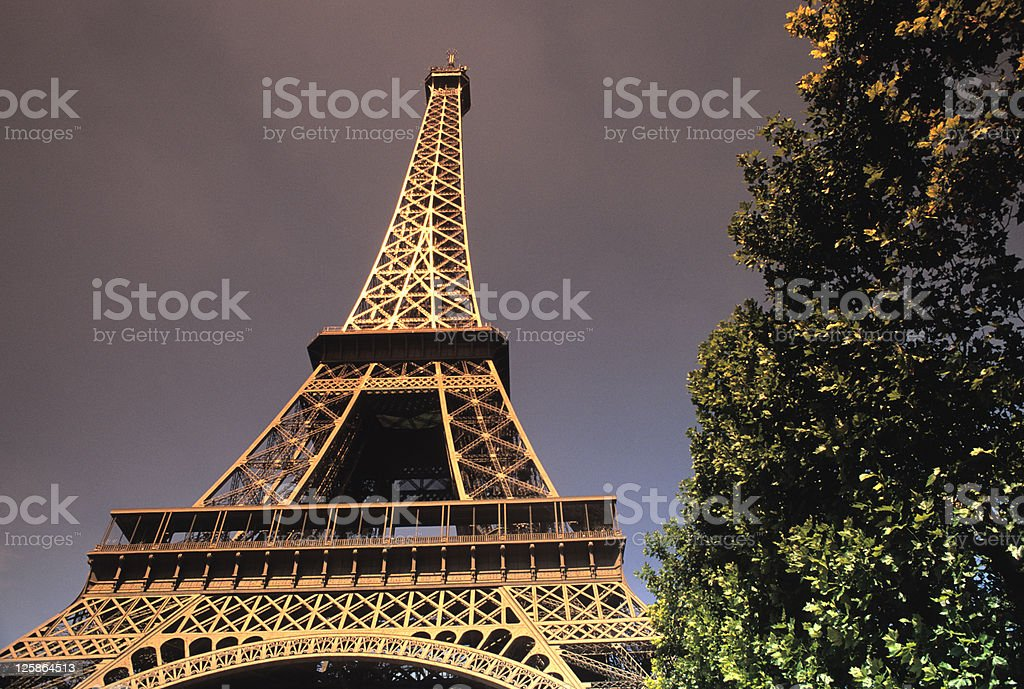 Eiffel Tower foto stock royalty-free
