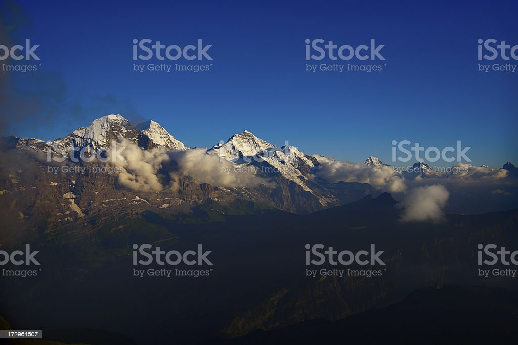 Eiger before Sunset royalty-free stock photo