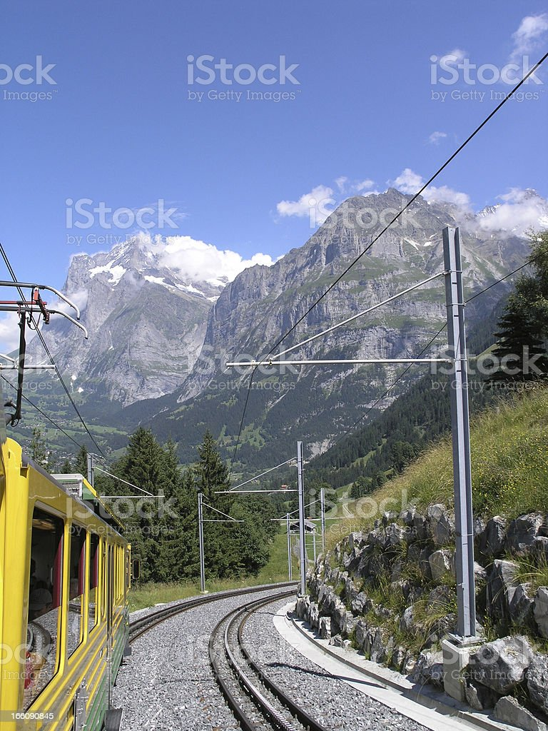 Eiger Mountain royalty-free stock photo