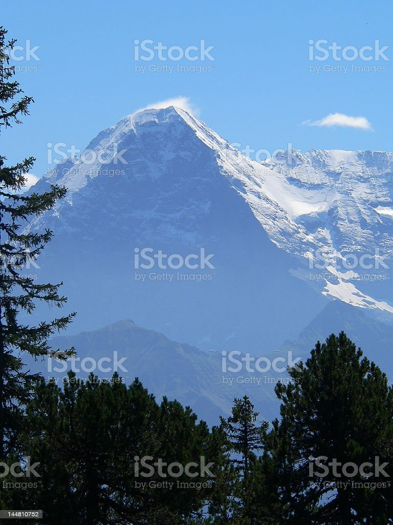 Eiger Mountain, Switzerland royalty-free stock photo