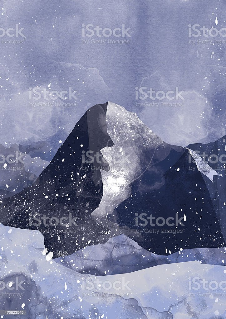 Eiger, North Face stock photo