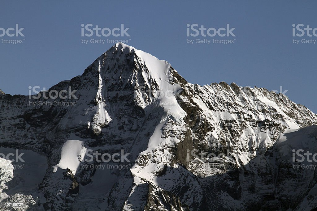 Eiger Northface in the alps royalty-free stock photo