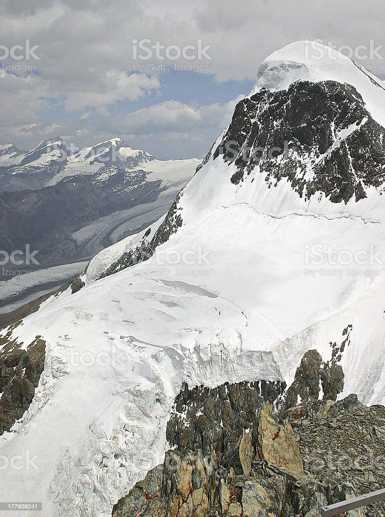 Eiger royalty-free stock photo