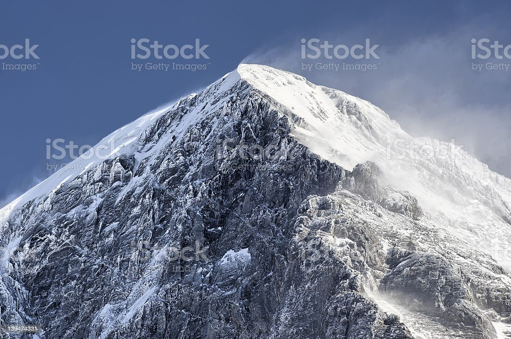Eiger Summit royalty-free stock photo