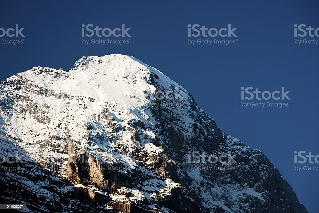 Eiger, Swiss Alps royalty-free stock photo