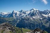 eiger, swiss alps, switzerland