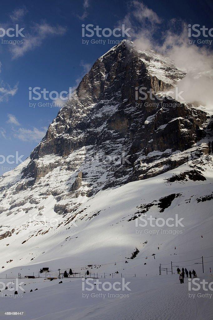 Eiger Switzerland stock photo