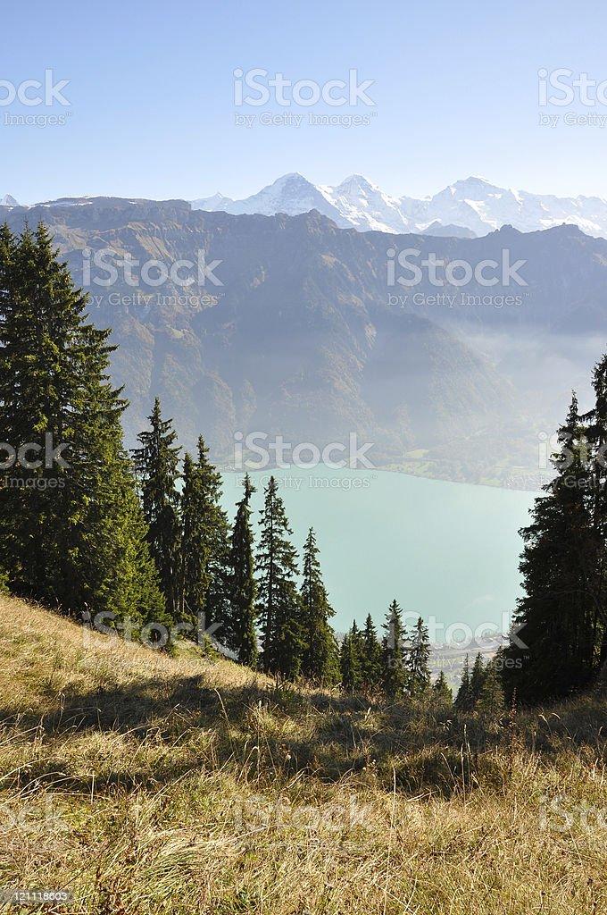 Eiger-Monch-Jungfrau stock photo