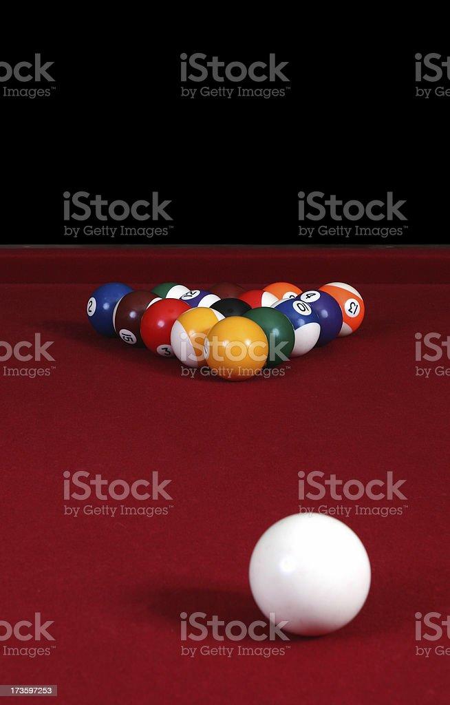 Eight Ball royalty-free stock photo