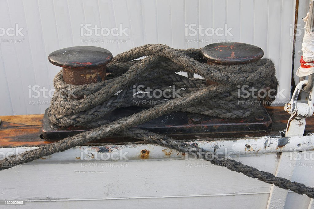 Eight knot royalty-free stock photo