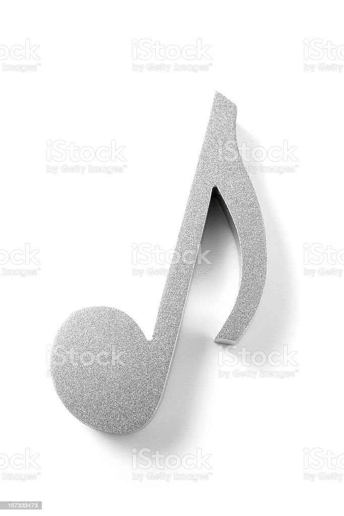 Eighth Note royalty-free stock photo