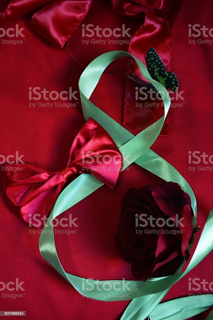 Eighth Of March stock photo