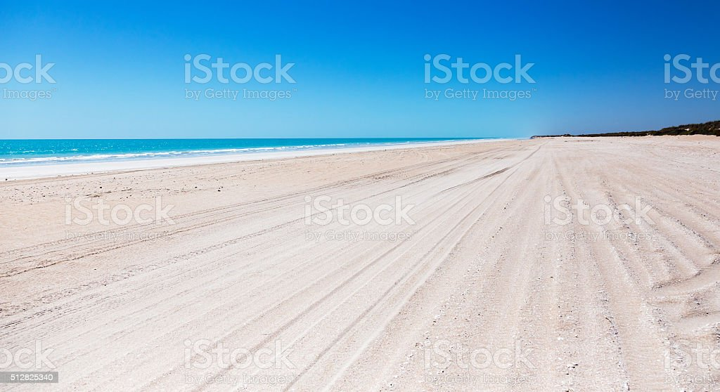 Eighty Mile Beach Western Australia stock photo