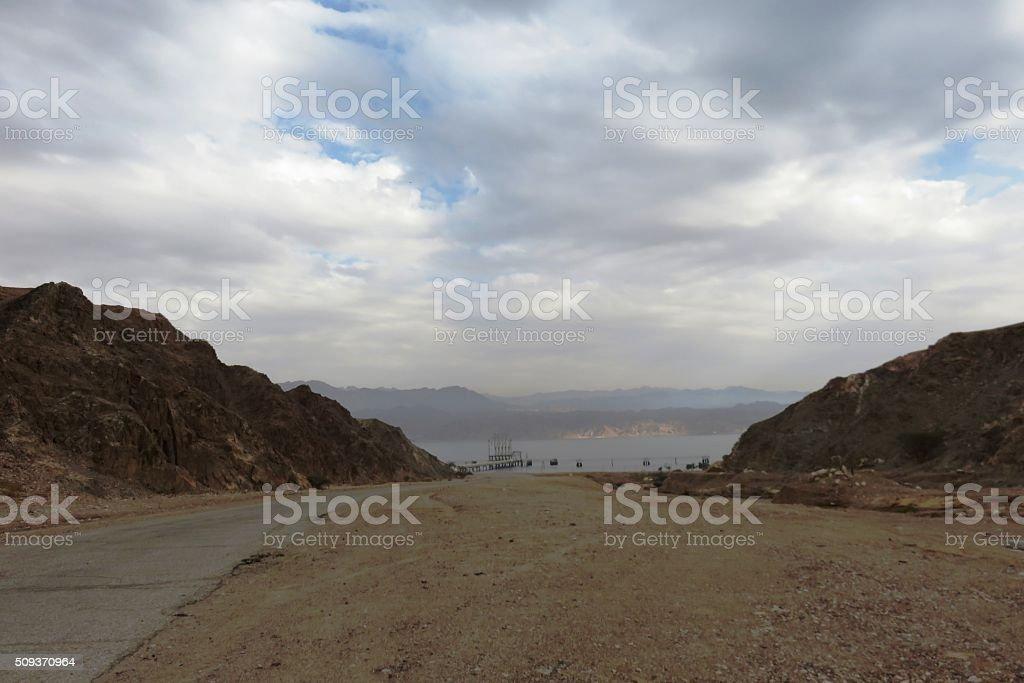 Eilat Mountains stock photo