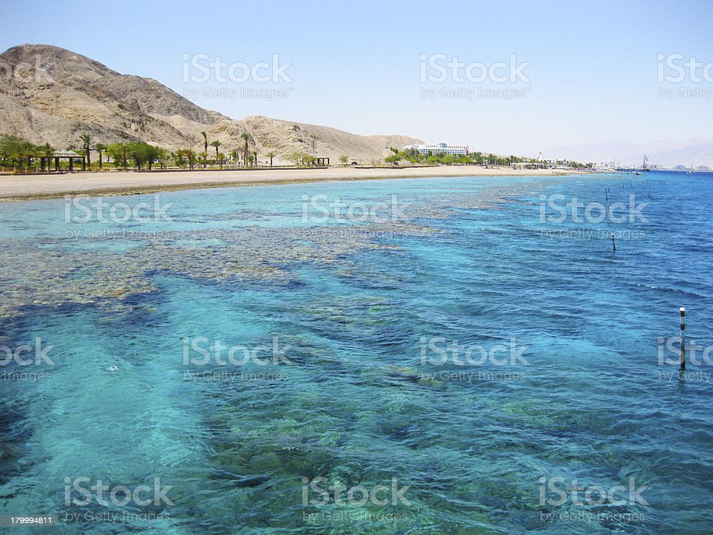 Eilat, Red Sea, Israel royalty-free stock photo