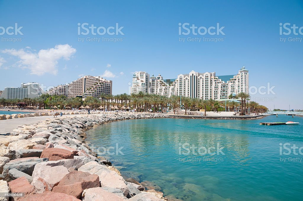 Eilat, Red Sea, Israel stock photo