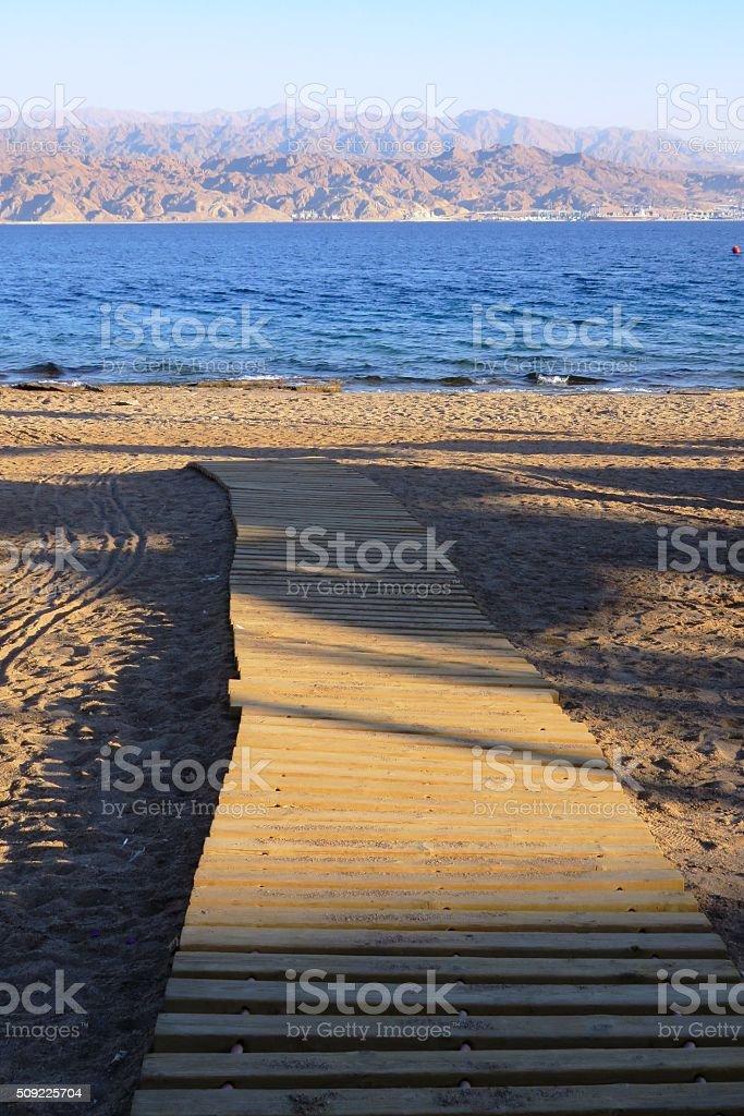 Eilat tourism stock photo