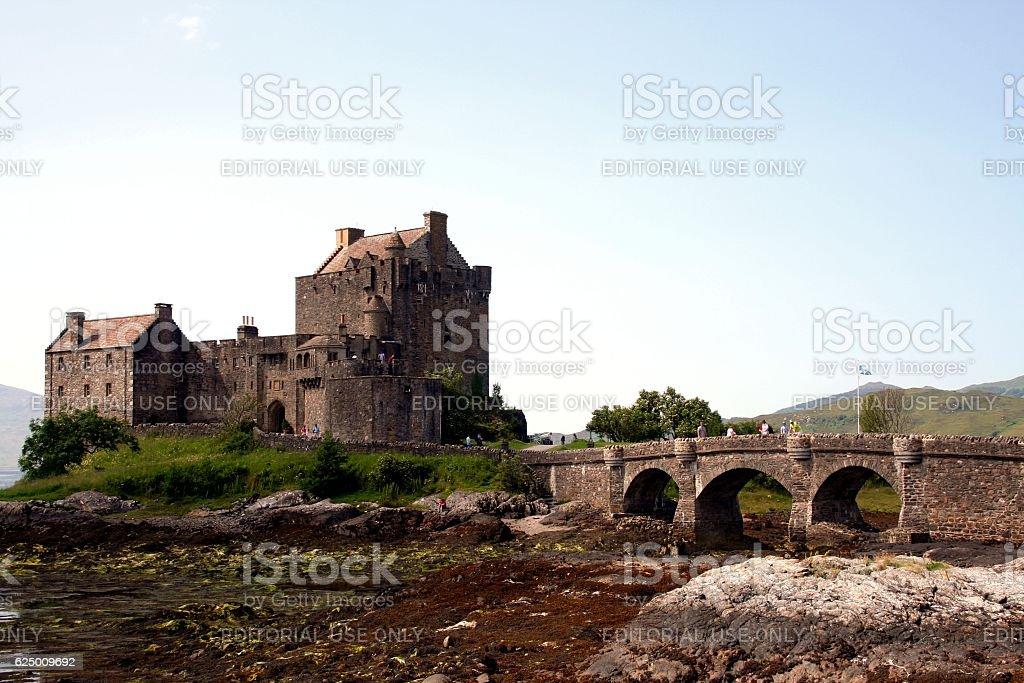 Eilean Donan Castle Highlands Scotland United Kingdom UK stock photo