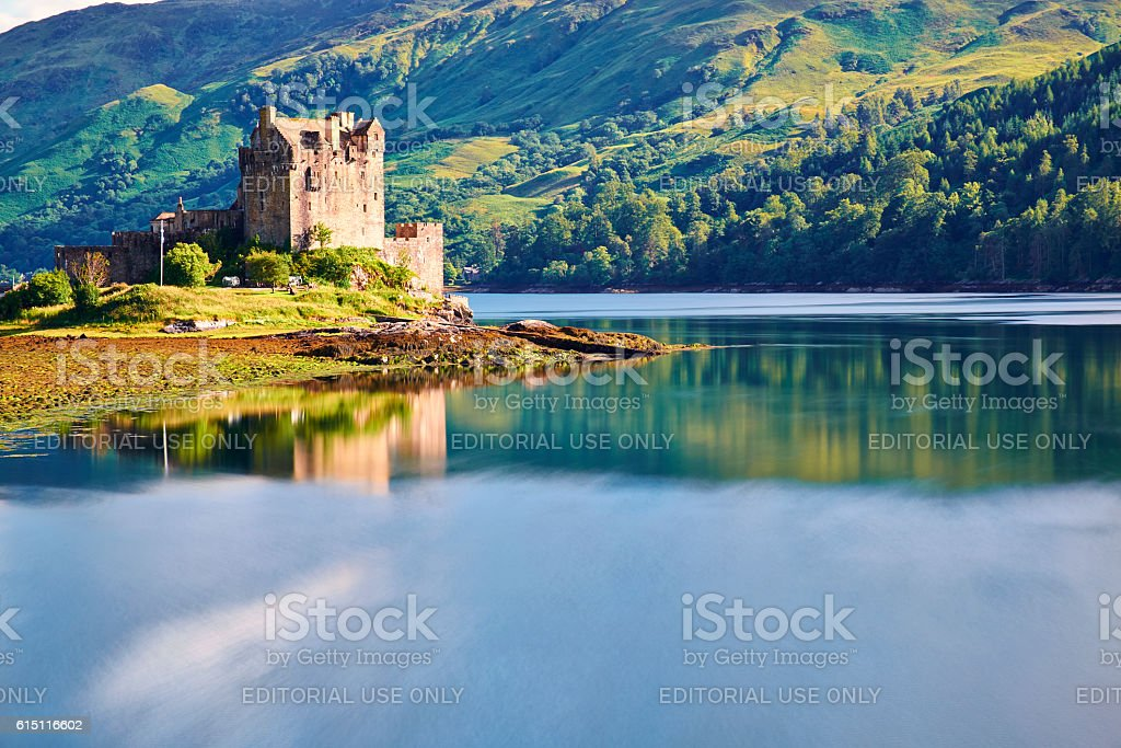 Eilean Donan Castle In The Scottish Highlands stock photo