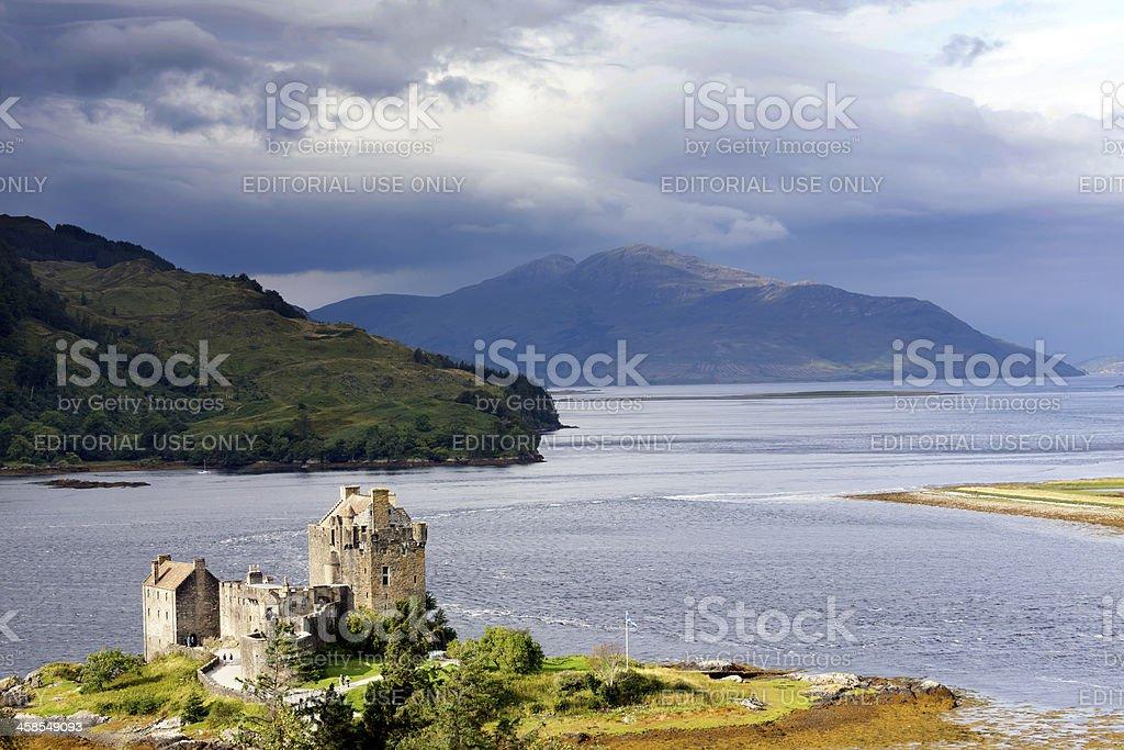 Eilean Donan Castle royalty-free stock photo