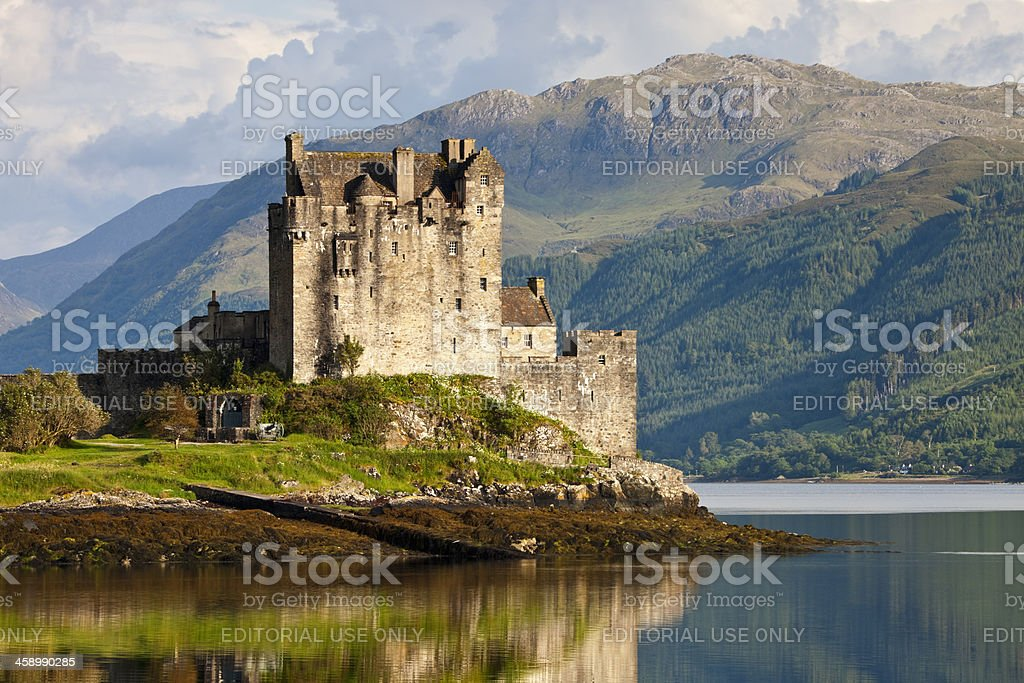 Eilean Donan Castle, Scotland, UK stock photo